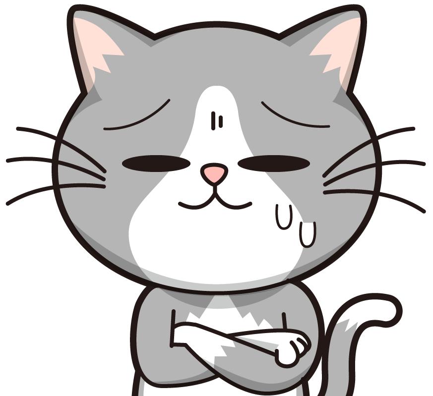 税務調査におびえるネコ社長